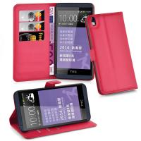 Buy cheap Purple Flip Wallet PU Leather With Card Slot Case Cover For HTC 816 Case from wholesalers