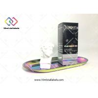 Buy cheap Custom Folding Pharmaceutical Packaging Boxes With Silver Foil Hot Stamping from wholesalers