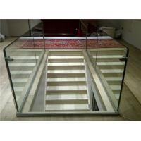 Buy cheap Aluminum U Channel Glass Railing with Aluminum Base Channel Floor Fixing from wholesalers