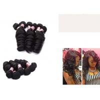 Buy cheap Black Loose Wave 10 Inch - 30 inch hair extensions Double Drawn from wholesalers