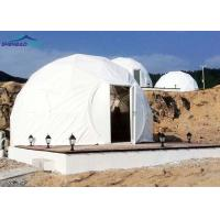 Buy cheap Dome Heavy Duty Army Tents With Hot Dip Galvanized Steel Military Shelter from wholesalers