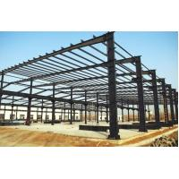 Buy cheap Q345 / Q235B Prefabricated Steel Frame Buildings Pre Cut Environment Friendly from wholesalers