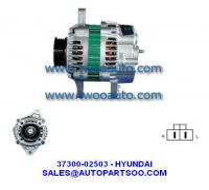 Buy cheap 37300-02503 AB160108 LRA02039 - HYUNDAI Alternator 12V 60A Alternadores product