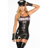 Buy cheap Spread Em Sheer Police Lingerie Adult Costumes for Carnival Christmas Halloween from wholesalers