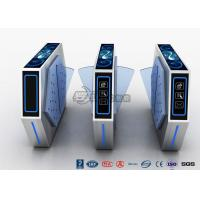 Buy cheap Fast Lane Flap Barrier Gate Turnstile Barrier Gate Flap Barrier With Anti-Reversing Passing from wholesalers
