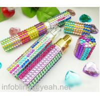 Buy cheap self adhesive acrylic rhinestone gem sticker crystal sticker for perfume bottle from wholesalers