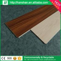 Quality Classic Pattern Interlocking PVC Plastic Floor Tiles for sale