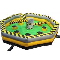 Buy cheap Outdoor Inflated Fun Games PVC 0.55mm Quadruple Stitching In Key Areas from wholesalers