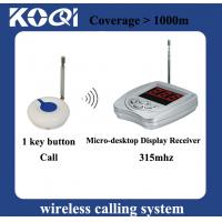 Buy cheap Wireless Calling System Bell Service K-400A+O1F from wholesalers