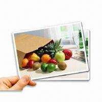 Buy cheap Magnetic Inkjet Printing Paper, Available in Vivid Colors, Smudge-proof and Waterproof product