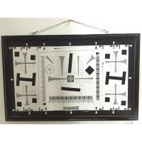 Buy cheap Camera test chart 2000 lines iso 12233 standard test chart for resolution, MTF, TV line test from wholesalers