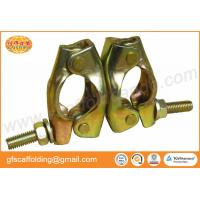 Buy cheap British pressed Q235 swivel coupler rotation clamp with 48.3mm size for pipe and coupler scaffolding system from wholesalers
