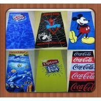 Buy cheap Custom cartoon Microfiber towels plain dyed beach towel microfiber bath towel from wholesalers