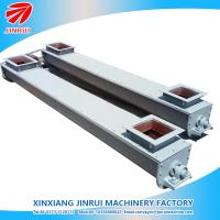 Buy cheap hanlding powder material U shape small screw conveyor for wood chips from wholesalers