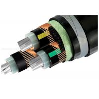 Buy cheap High Voltage Armoured Electrical Cable Three-Core XLPE Insulation Copper Wire Shield STA Underground Al Cable product