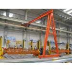 Buy cheap YUANTAI single beam semi gantry crane,single girder gantry crane 10 ton from wholesalers