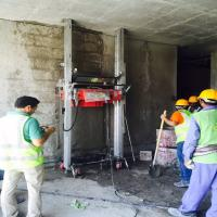 Buy cheap New Technology Wall Cement Mortar Plastering Machine for Plaster Wall from wholesalers
