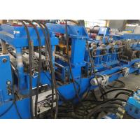 Buy cheap Low Noise Steel Frame CZ Purlin Roll Forming Machine , Roll Forming Equipment product