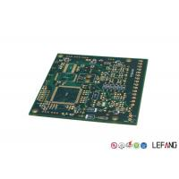 Buy cheap PCB Multilayer Circuit Board Green Solder Mask With Immersion Gold Operating Line from wholesalers