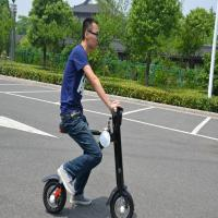 Buy cheap Fashionable Foldable Electric Scooter 500w Electric Folding Bicycle Adults Use from wholesalers