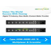 Buy cheap DVB 8 ASI Input 2 Output Digital Cable TV Multiplexer Support EPG Data PSI SI Input from wholesalers