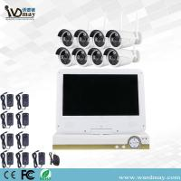 Buy cheap CCTV Security 8chs 1.3/2.0MP Home Wireless Surveillance Camera WiFi NVR Alarm System with 10.1 Inch LCD Screen for Home from wholesalers