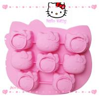 Buy cheap Hello kitty Silicone Cake Moulds for baking cake / chocolate / jelly product