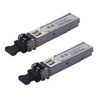 Buy cheap Dual Data Cisco GE SFP Optical Transceiver Compatible GLC – LH - SM For Gigabit Ethernet from wholesalers