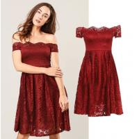Buy cheap hot fahsion dress lady off-shoulder Lace Dressparty dress from wholesalers