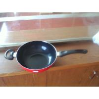 Buy cheap 30cm Nonstick Induction Bottom Wok Pan With Silicon Side Handle from wholesalers