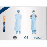 Buy cheap Dark Green Disposable Surgical Gown Non Woven  Lab Gowns Lightweight Blood Proof from wholesalers