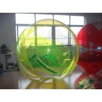 Buy cheap Inflatable Colored Inflatable Water Walking Ball , Inflatable Water Toys With For Kids from wholesalers
