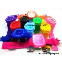 Buy cheap Wholesale Colorful Silicone Strap Watch for young from wholesalers