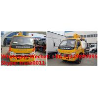 Buy cheap Factory sale best selling Forland 4*2 LHD 2.5tons telescopic boom mounted on truck, HOT SALE! mobile truck with crane from wholesalers