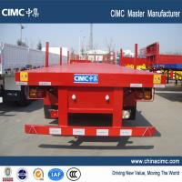 Buy cheap multi axle 40 tons log trailer flatbed truck trailer for sale - CIMC Vehicle from wholesalers