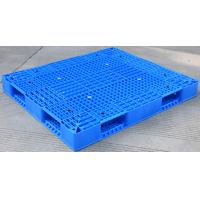 Buy cheap Eco Friendly HDPE Plastic Pallets / Stackable Plastic Pallets With Reinforced Rims from wholesalers
