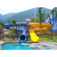 Buy cheap Outdoor Kids' Water Slides For Amusement Park / Fiberglass Playground Slide for Aqua Park from wholesalers