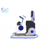 Buy cheap Exciting 720 Degree Flight Simulator Cockpit 360 Vr Chair Rotation VR Simulator for Roller Coaster Simulator product
