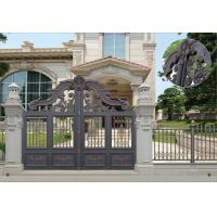 Buy cheap Villa Aluminum Electric Garden Door Opening Type With Remote Control Motor Shaft 4.5m from wholesalers
