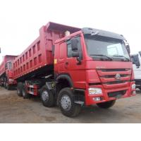 Buy cheap Professional Heavy Duty Dump Truck 12 Wheeler Cubic Meter 8x4 Tipper Truck from wholesalers