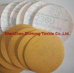 Buy cheap Top quality coating hook loop sandpaper polishing disks kit from wholesalers