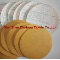 Buy cheap Top quality coating hook loop sandpaper polishing disks kit product