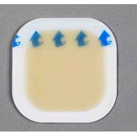 Buy cheap Hydrocolloid dressing, semi-transparent, pemeable, waterproof, air-permit,elastic from wholesalers