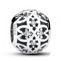 Buy cheap Pandora 925 Sterling Silver Beads Jewelry Intricate Lattice Openwork Ball Style from wholesalers