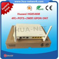 Buy cheap White plastic 100% Original New HUAWEI EchoLife GPON ONU/ONT HG8546M 4FE+POTS+2WIFI+USB with competitive price product