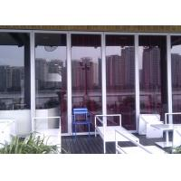 Buy cheap Aluminum Frame Glass Partition Wall  Sliding Partition Suspended from wholesalers