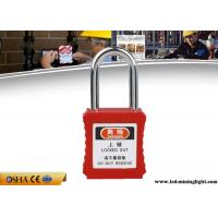 Buy cheap 38mm Steel Professional Safety Lockout Padlocks For Danger Warning from wholesalers