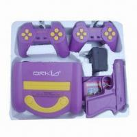Buy cheap 8-bit TV Video Game Player with Joysticks and Games from wholesalers