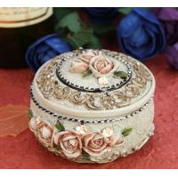 Buy cheap Court circular jewelry box from wholesalers