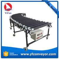 Buy cheap Flexible Expandable Motorized Rubber Coated Roller Conveyor,Loading Unloading Conveyor from wholesalers